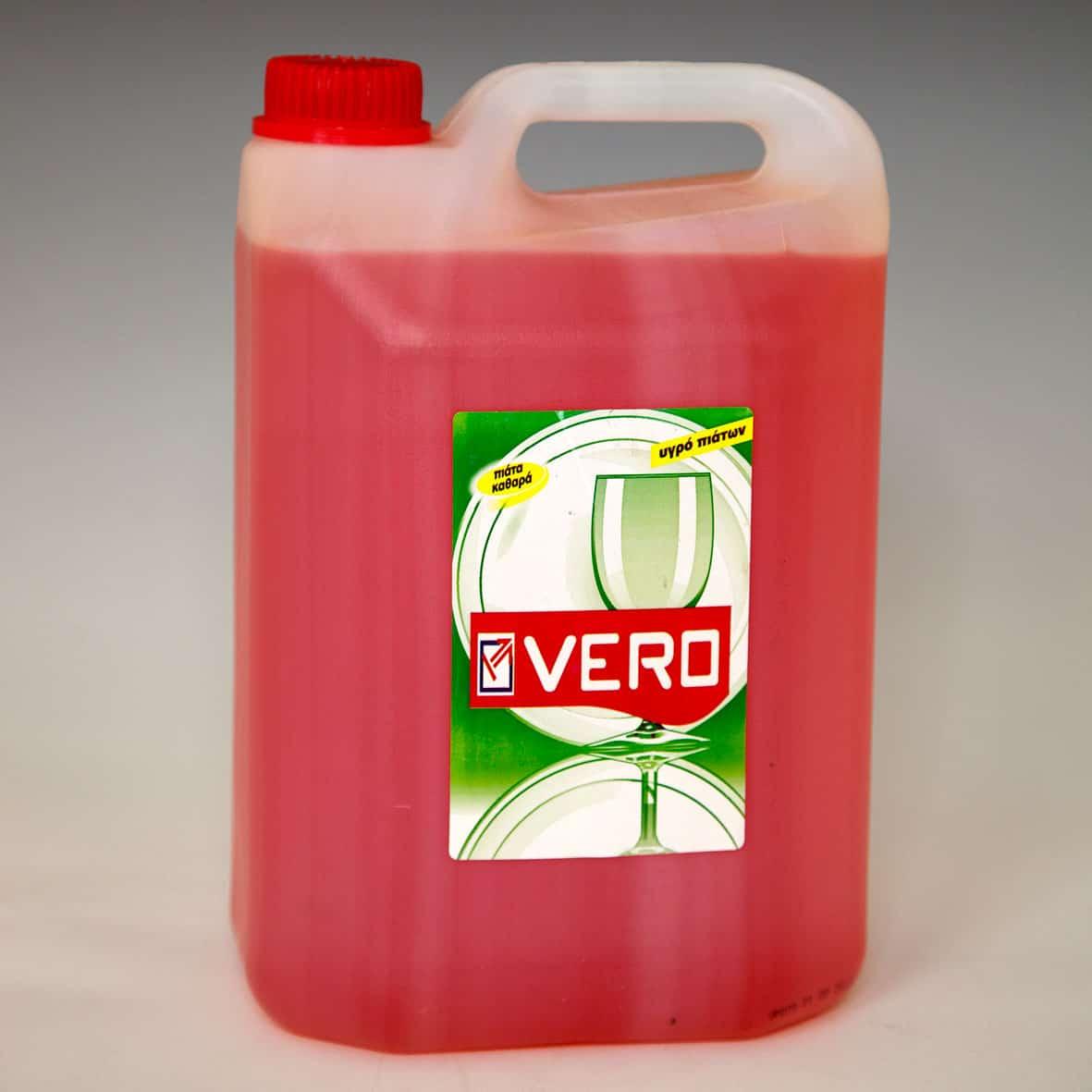 Tečnost za sudove VERO 4l.