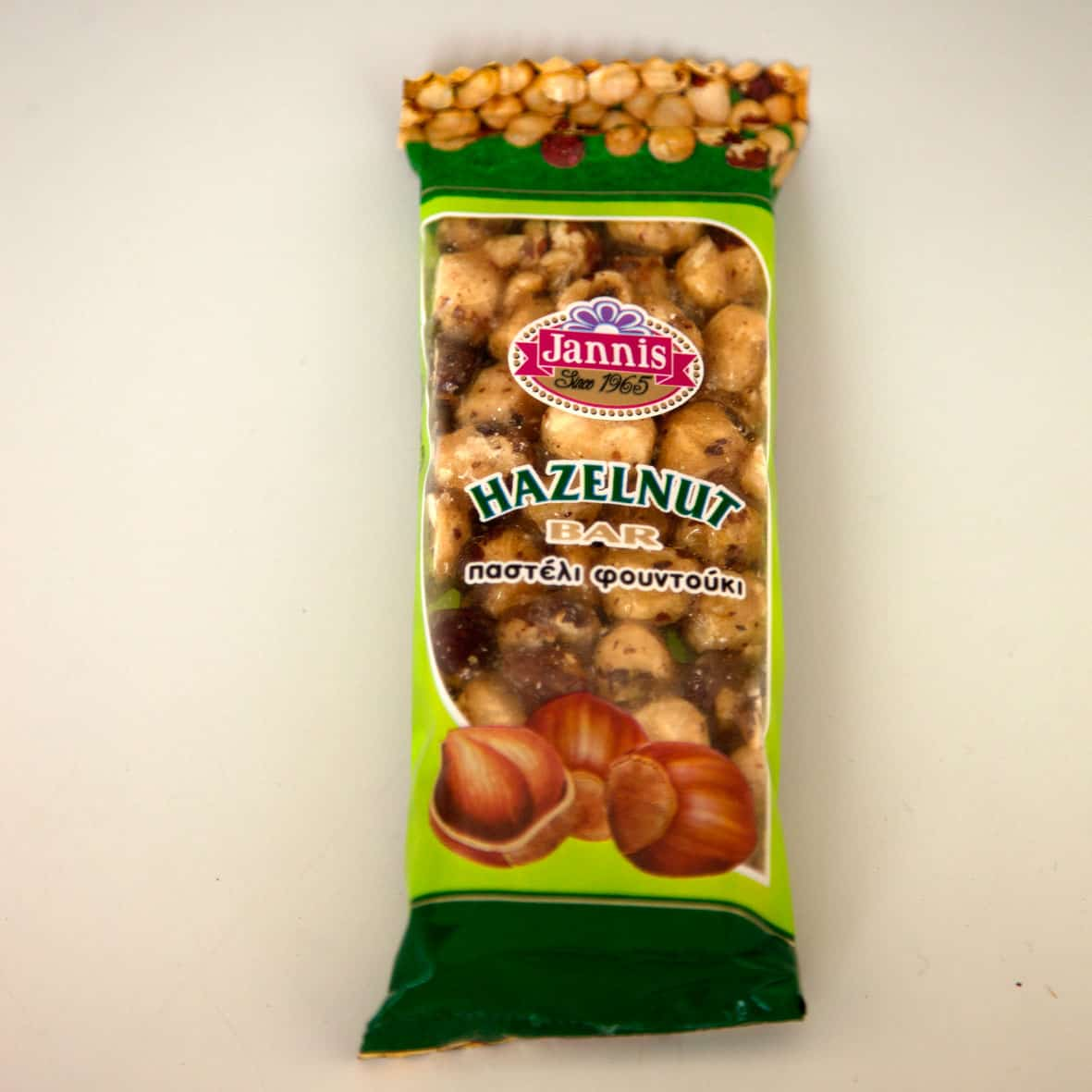 Jannis hazelnut bar 40g