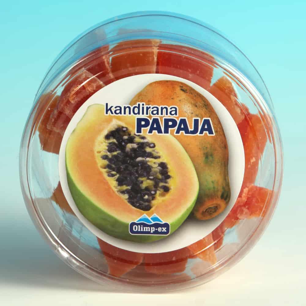 Kandirana papaja 200g
