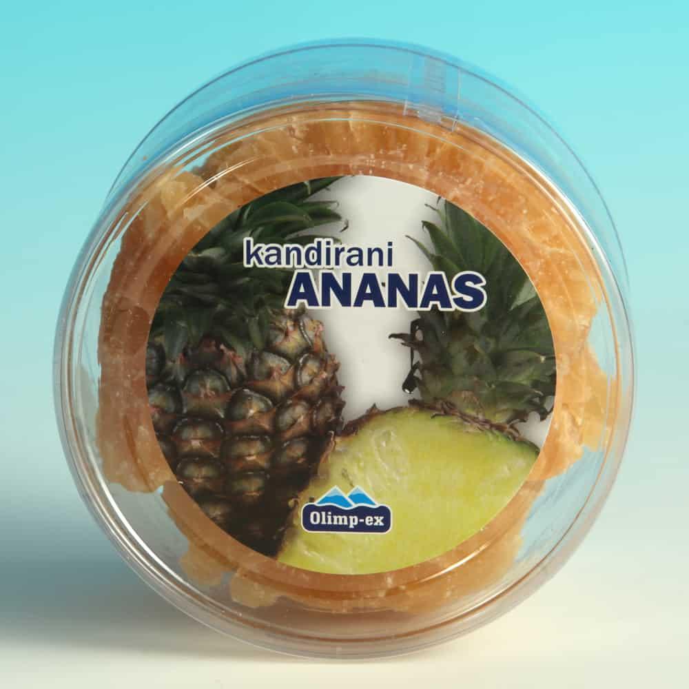 Kandirani ananas 200g